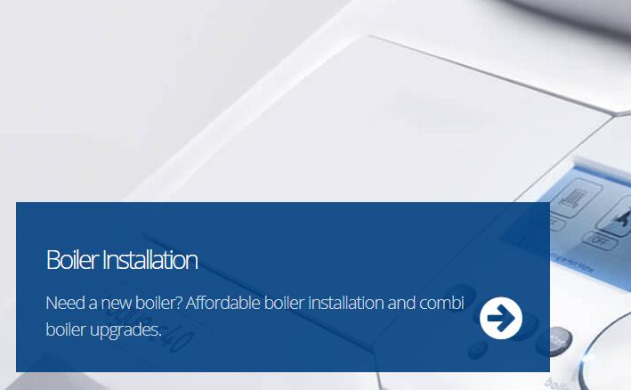 boiler install banner mobile